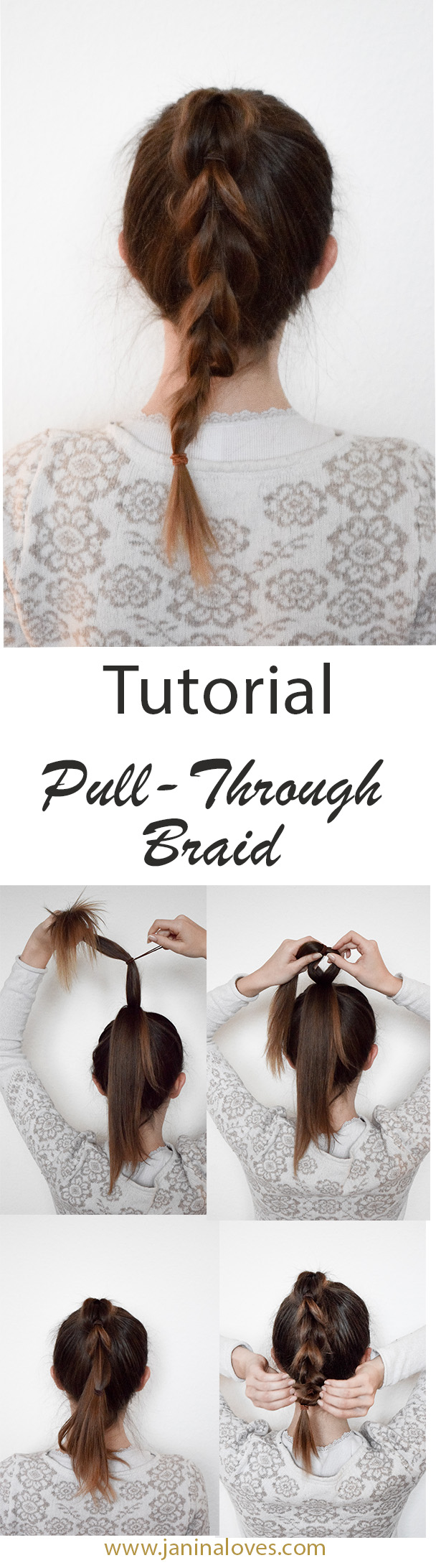 Pullthrough Braid Tutorial | Einfach & ohne flechten