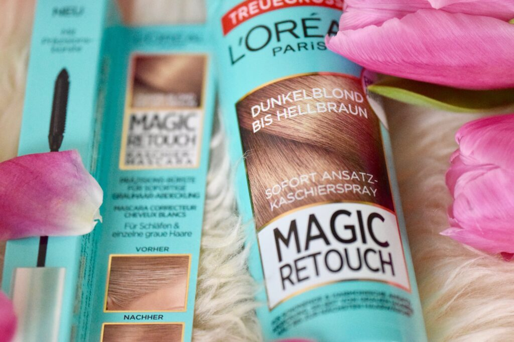L'Oreal Magic Retouch Sofort Ansatz-Kaschierspray und Kaschier-Mascara